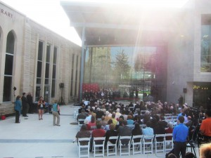 SJU Post Learning Commons Dedication
