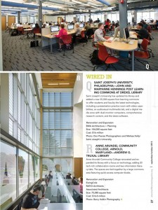SJU's Post Learning Commons if featured in this month's American Libraries Magazine!
